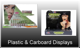 Plastic & Carboard Displays